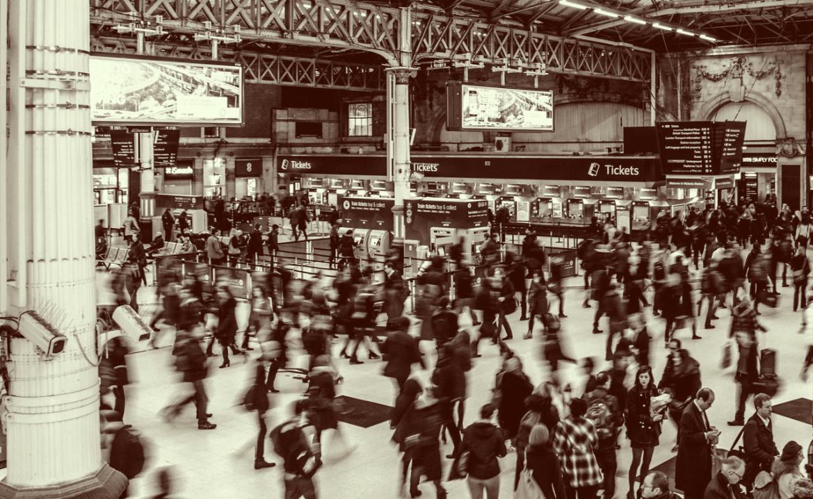 Mindandbeauty -  Crises d'angoisse : Station de train bondée en heure de pointe