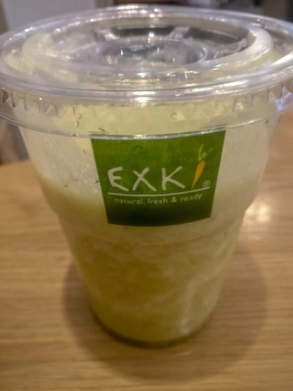 Mind & Beauty- Exki ou comment bien manger à l'extérieur : Smoothie Citron vert
