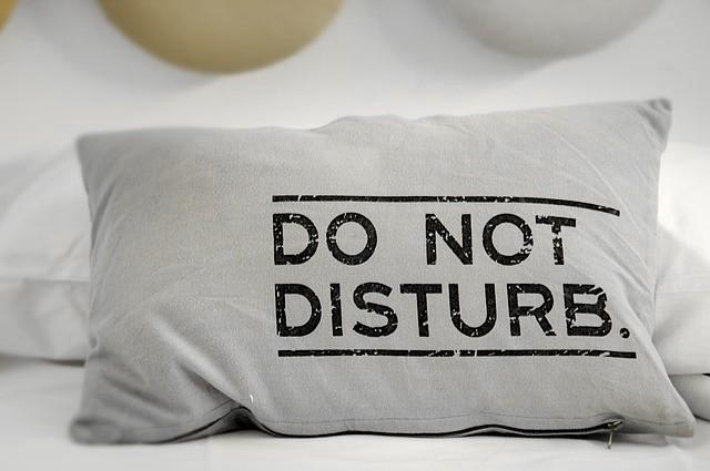 Mind & beauty - Oreiller do not disturb