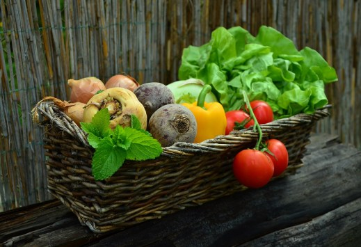 Mind & beauty - Rééquilibrage alimentaire : panier de légumes