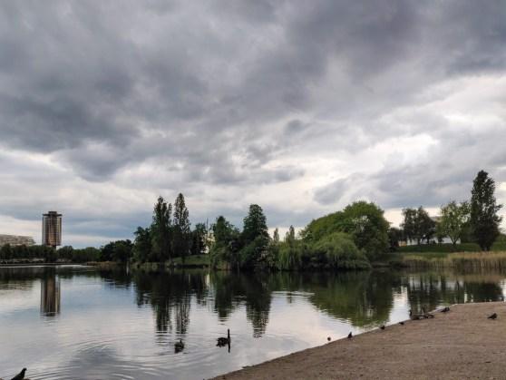 Mindandbeauty : Début de balade au lac de Créteil