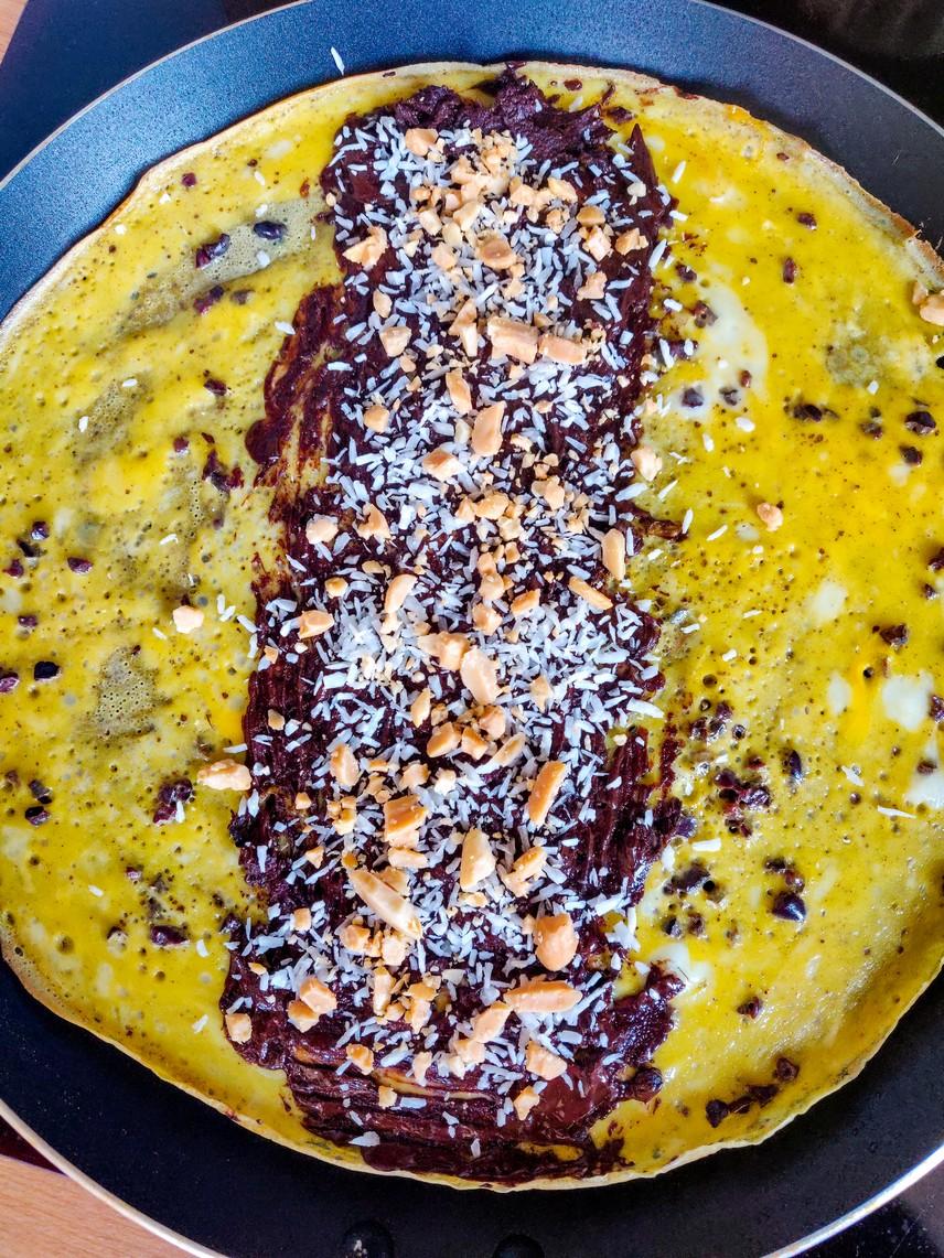 Mind and Veauty - Omelette sucrée ouverte