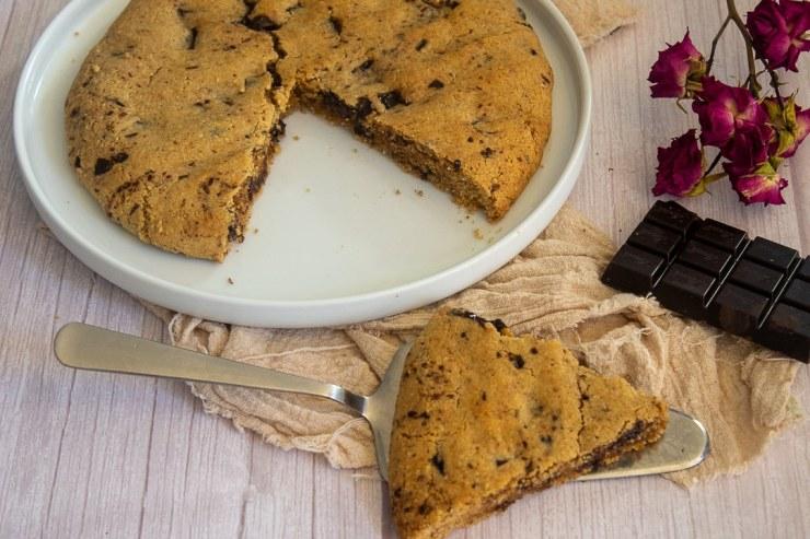 Mind And Beauty - Recette : Cookie Géant Healthy Noisette & Chocolat Noir