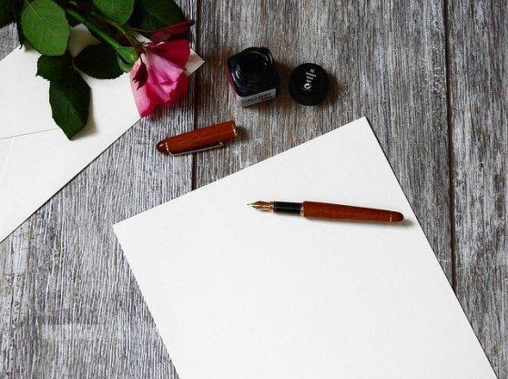Mind and Beauty - Ecrire une lettre ou un poème