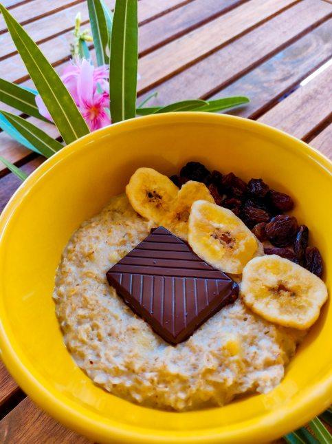 Mind and Beauty - Porridge à la banane