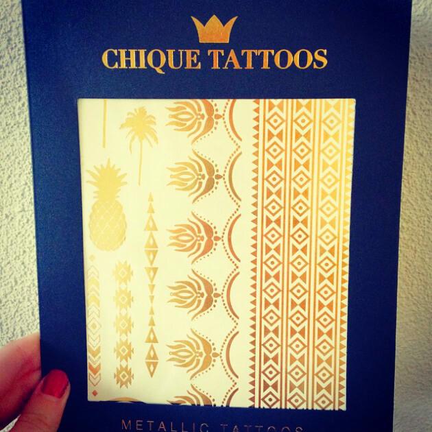 Review  Chique Tattoos  Mindandbeautynl