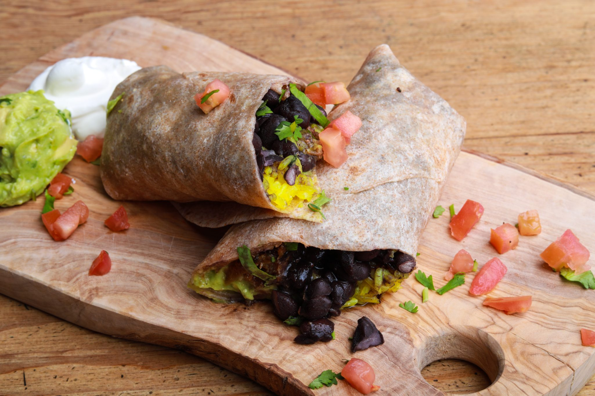 Fresh, healthy burrito's (on the go)
