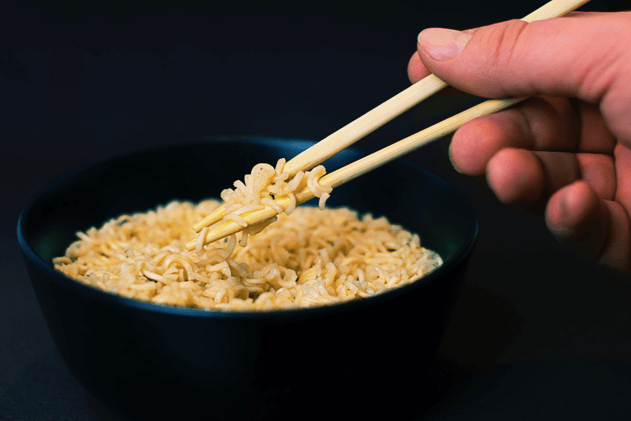 Japanese style noodles