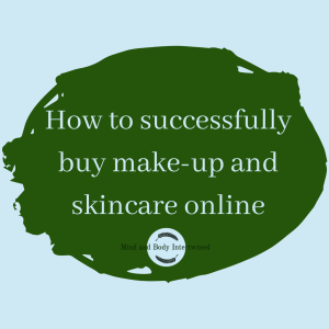 buy make-up and skincare online button
