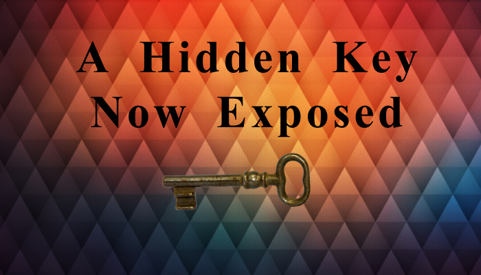 A Hidden Key Now Exposed