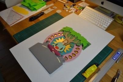mindart Cover Making of 5