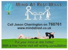 Advert for Will Wriitng