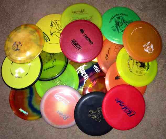 disc golf discs