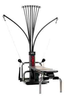 This is the original BowFlex model I owned, minus the clothes.