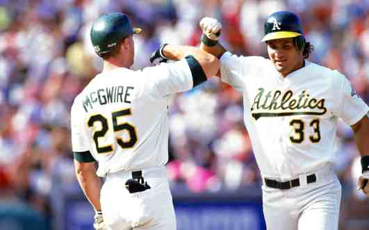 Whether or not you agree with their methods, McGwire and Canseco are perfect examples of strength translating to performance.