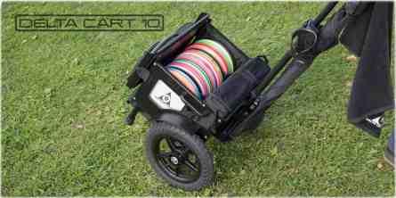 delta disc golf cart