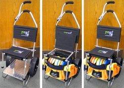 Go cart disc golf cart