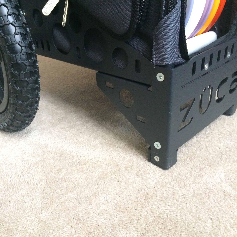 züca all terrain disc golf cart ridge roller review mind body disc