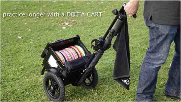 Delta Ten disc golf cart accessories