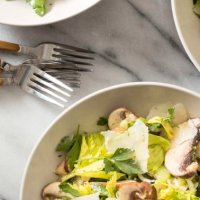 Get Your Mushrooms In & Keep Your Brain Sharp With This Salad Recipe