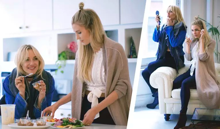The Founders Of Sakara Life Show How Minimalism Can Be