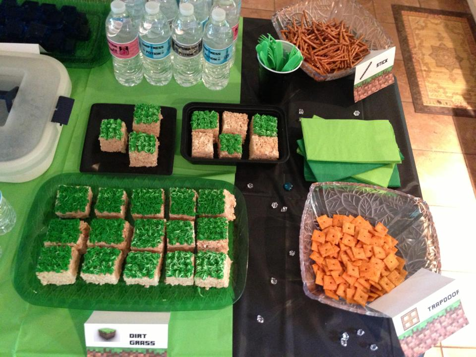 Minecraft Enderman Birthday Party Goody Bags Mindbodysoulessentials