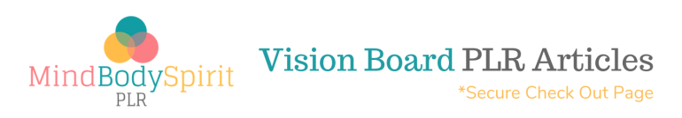 Vision Board PLR Product Banner for JVzoo Sales Pages (High Res)