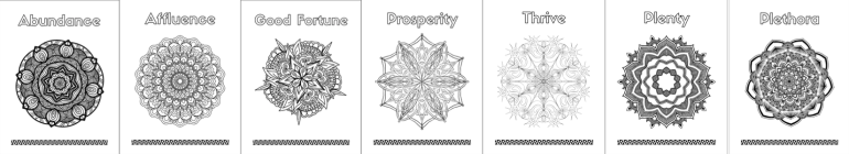 Abundance Coloring Pages Page Grouping