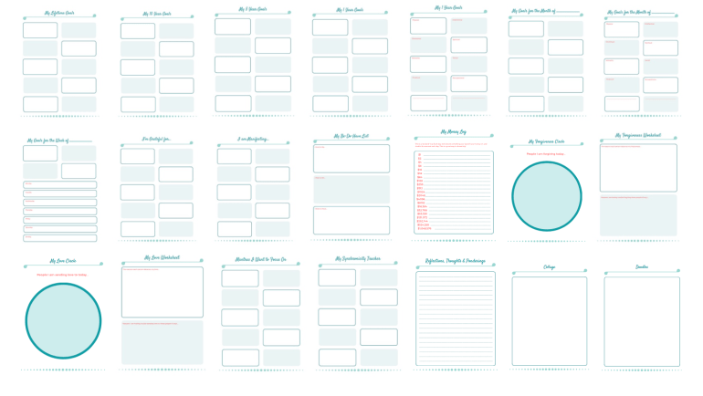 Printables Page Grouping