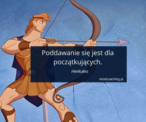 cytaty z bajek Herkules
