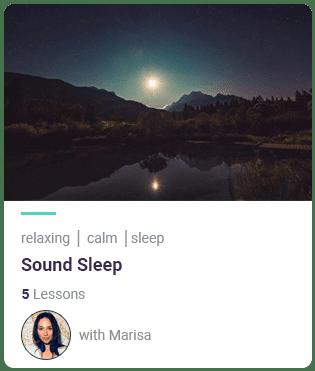 MindEasy sound sleep meditation course