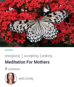 meditation for mothers meditation course