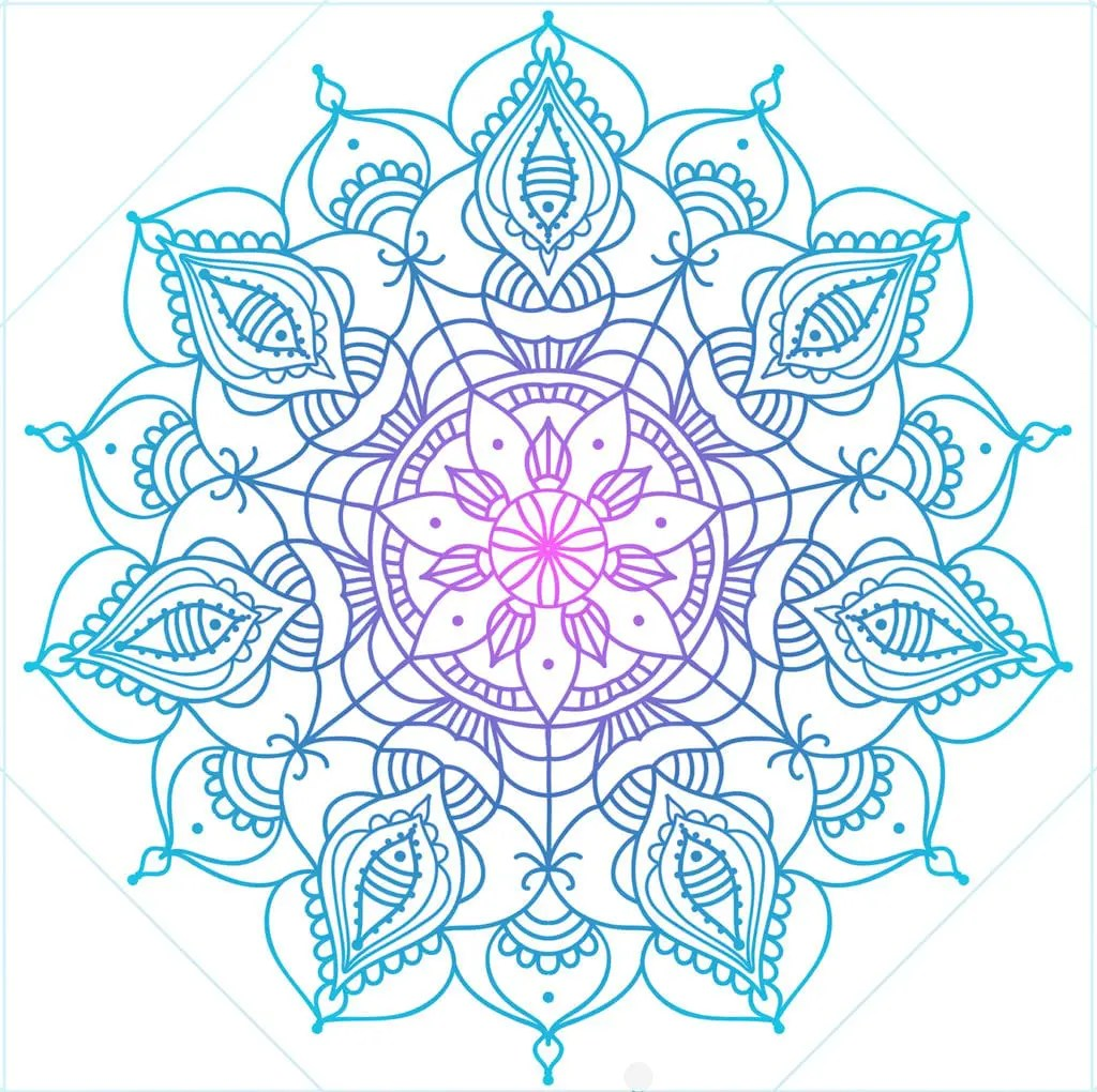 Spiritual meditation - Mandala