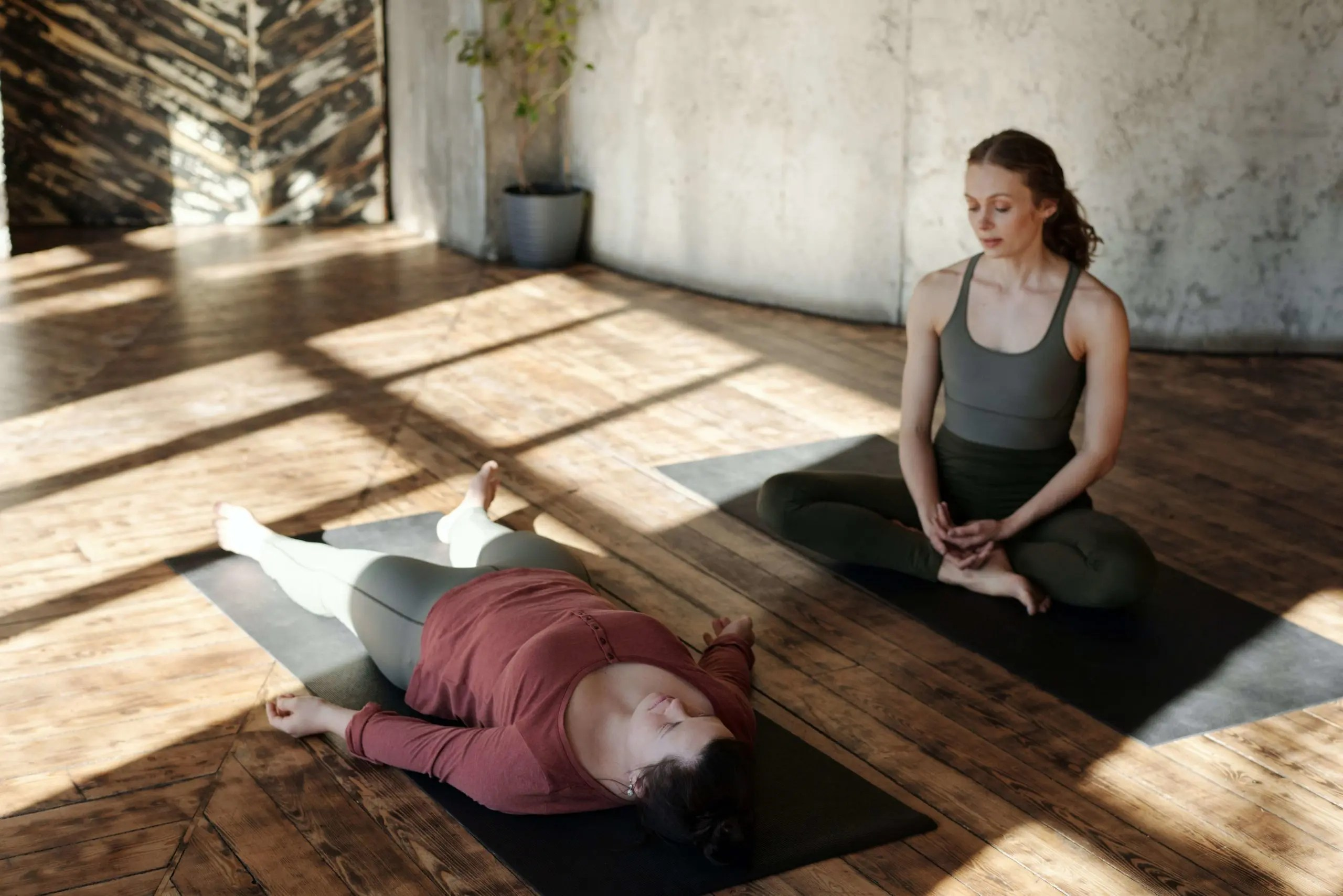 Meditation Positions - Lying down