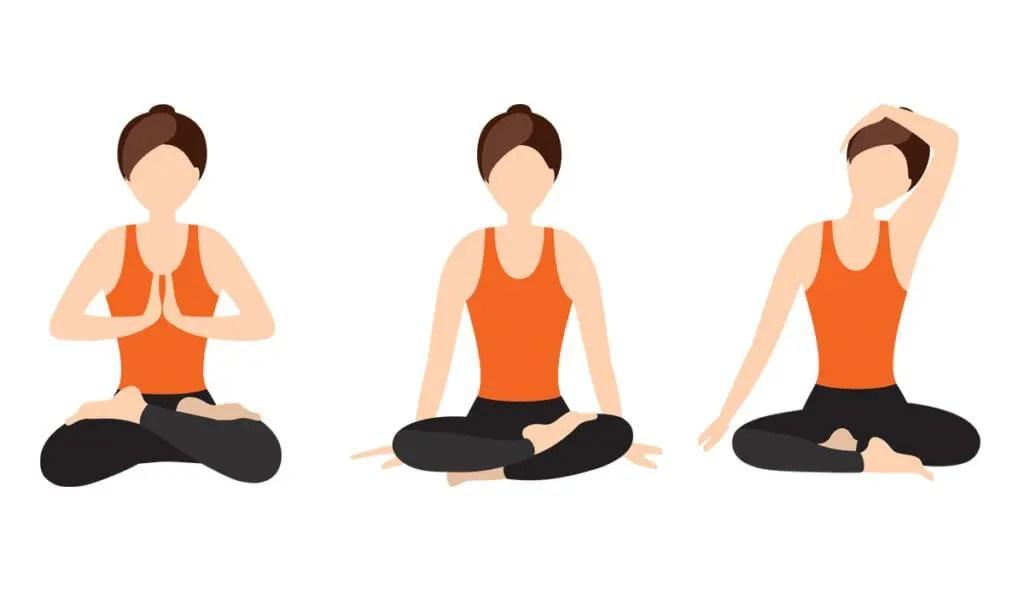 Zen meditation positions