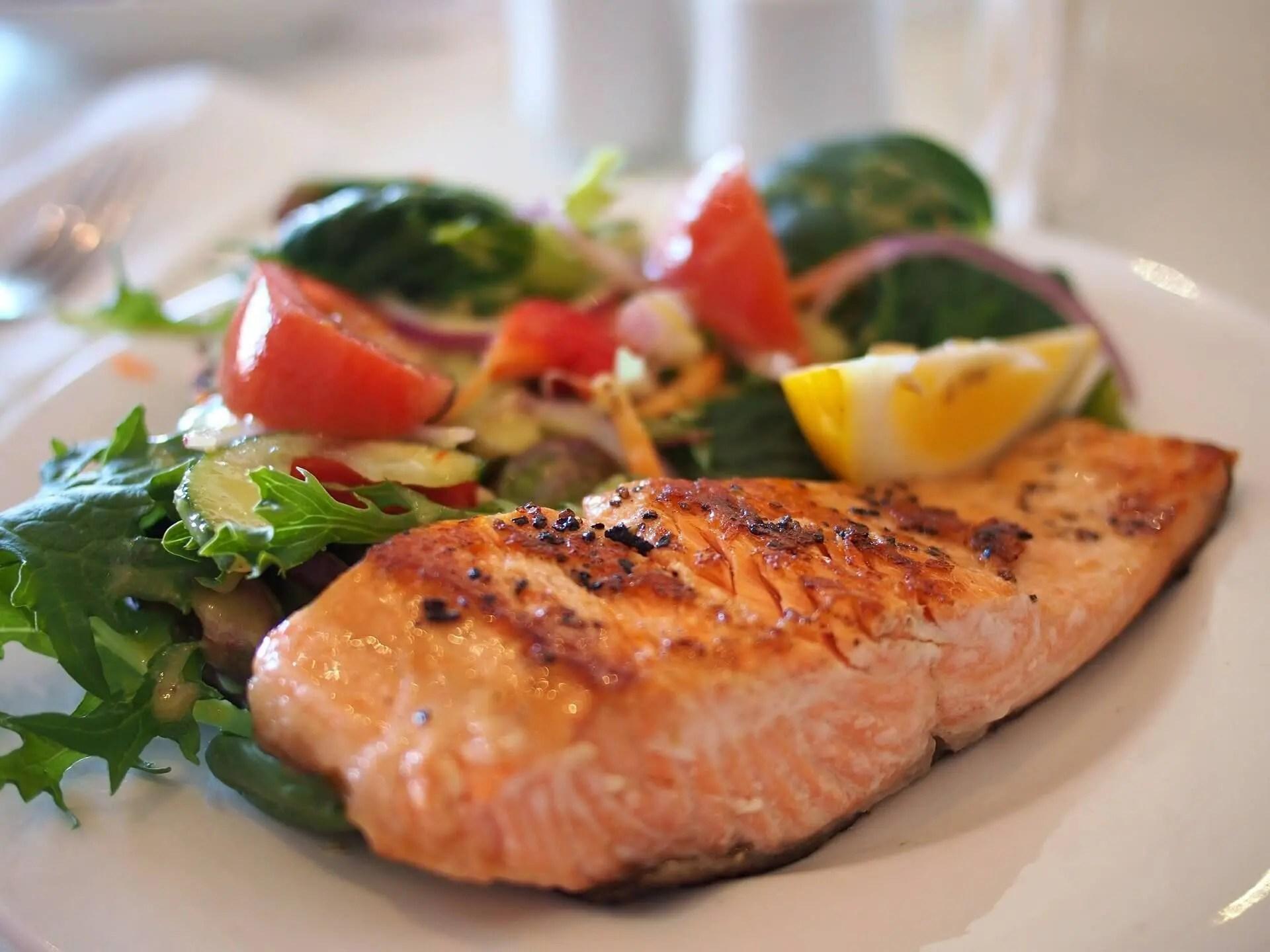 Mood-boosting food - salmon