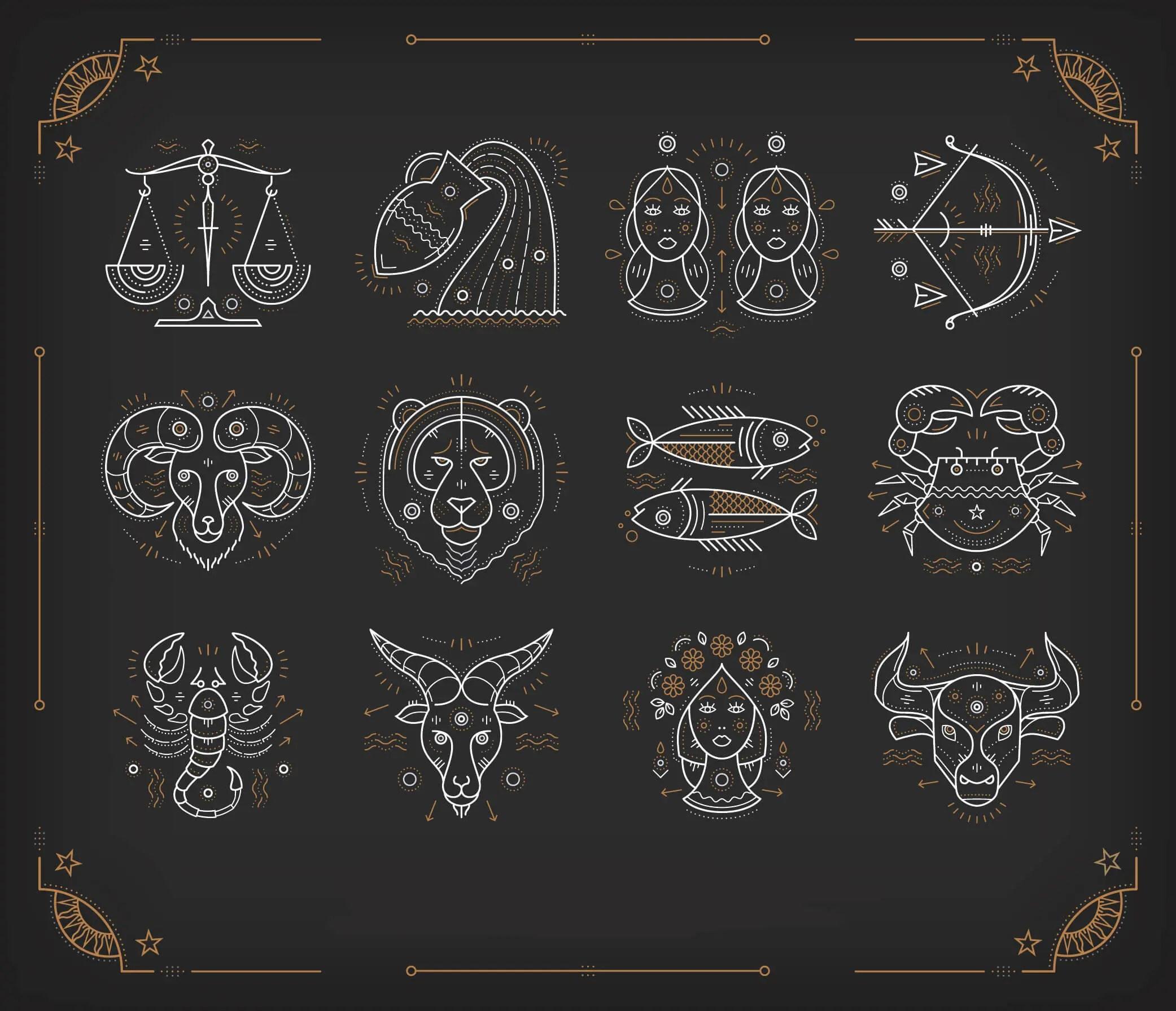 All zodiac