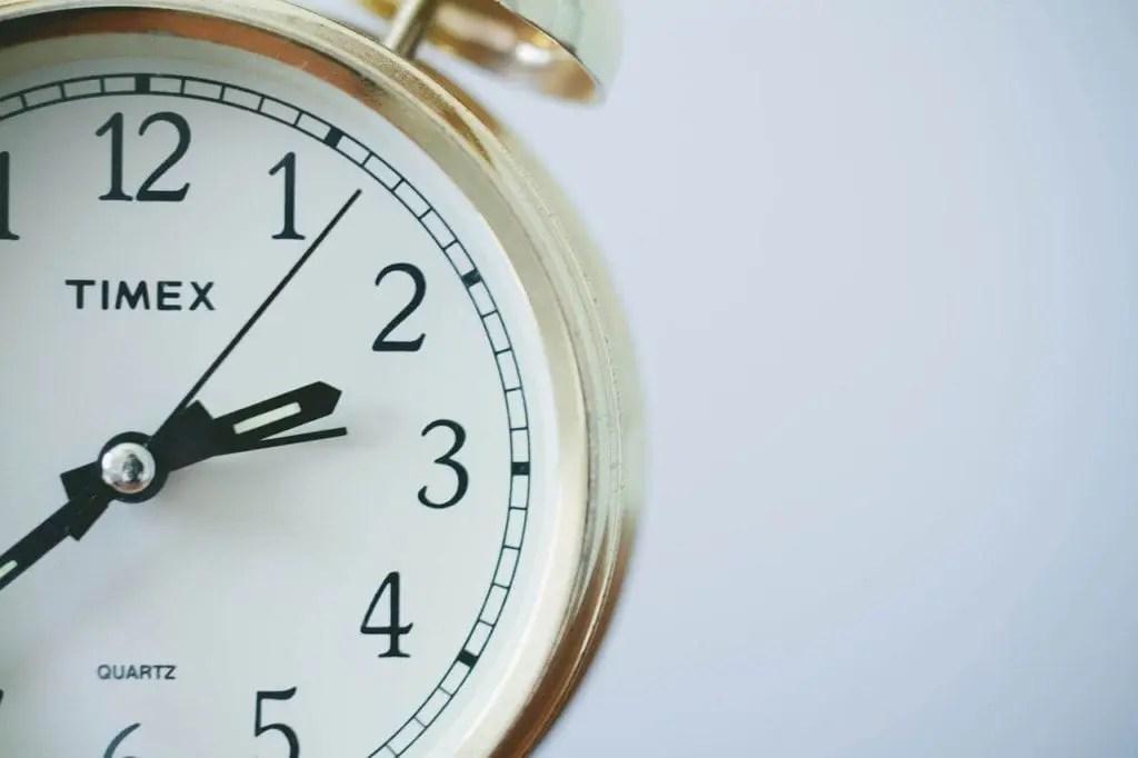 Procrastination - deadlines