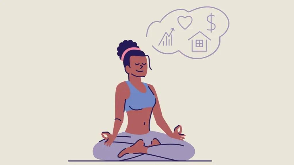 Visualisation Meditation - practising visualisation.