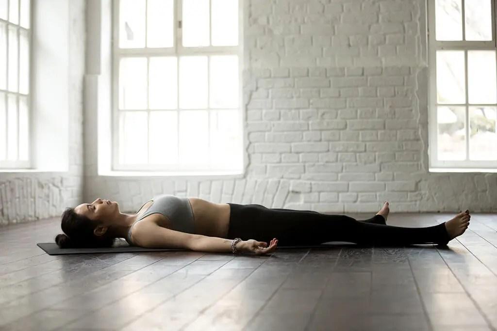 Yoga For Runners - Savasana