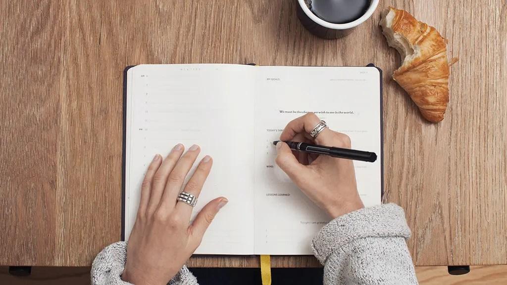 gratitude meditation - Journaling