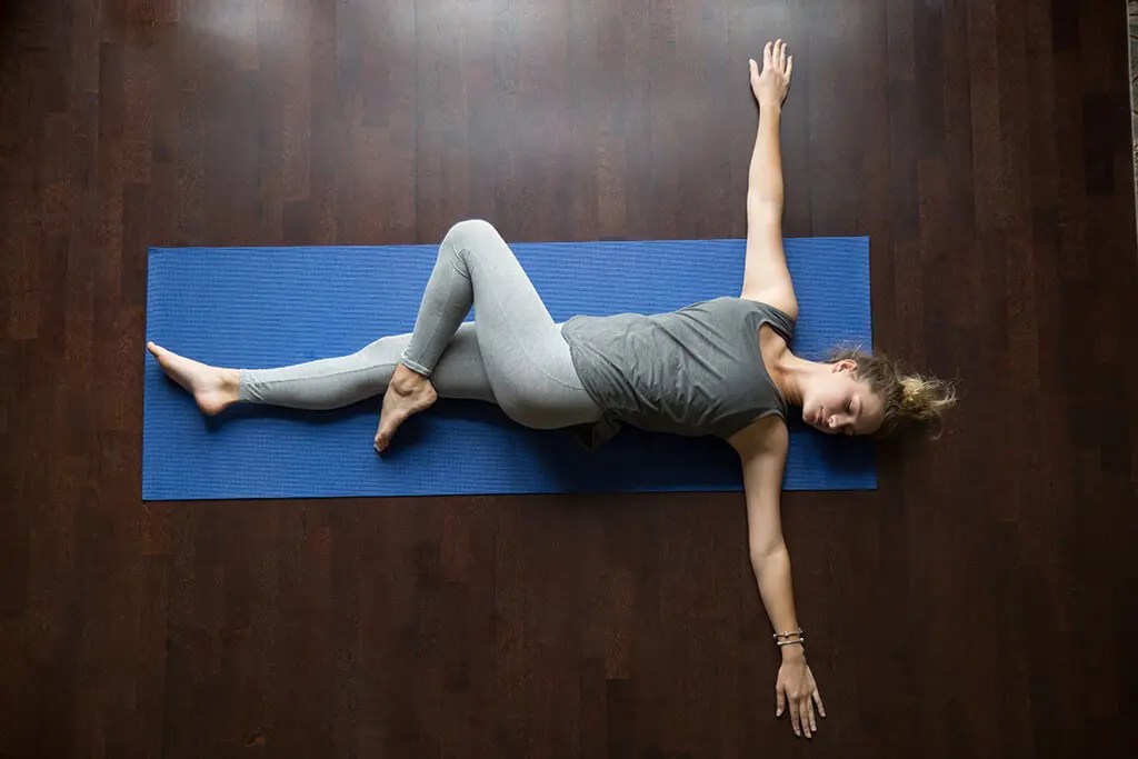 Yoga for Runners - Reclining Spinal Twist