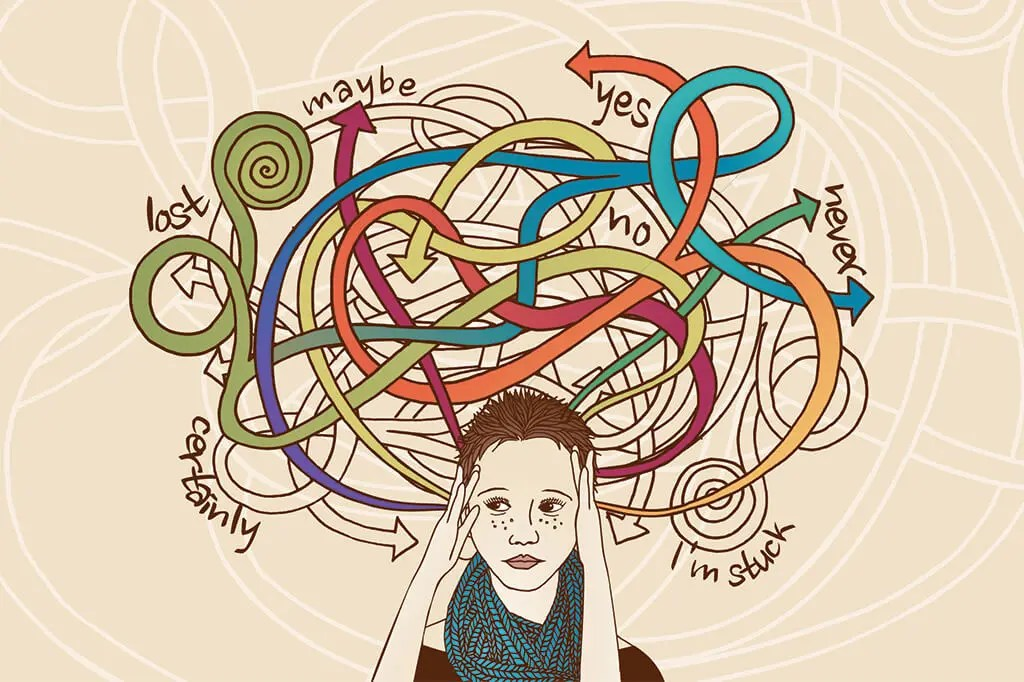 How to stop overthinking: challenge your thoughts