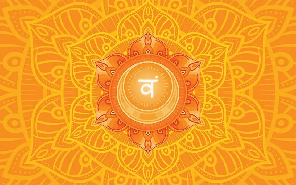sacral chakra orange aura