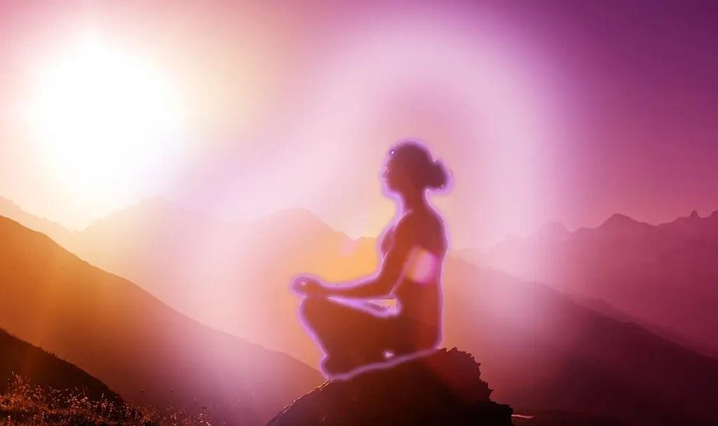 Purple Aura meditation