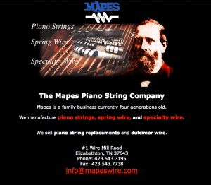 Mapes original website