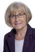Edith von Wrisberg, stellvertretende Fraktionssprecherin der Mindener Initiative (MI)