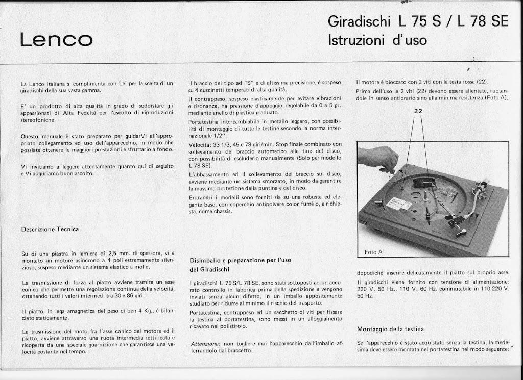 Manual… in Italiaans…