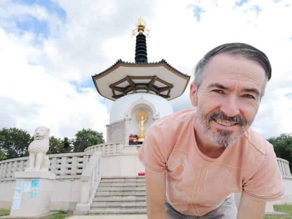 Mindfulness and Buddhism - Tony O'Shea-Poon at the Peace Pagoda Milton Keynes