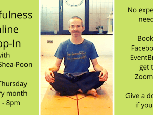 mindfulness drop-in with tony o'shea-poon 2021
